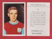 Burnley Colin Waldron 30